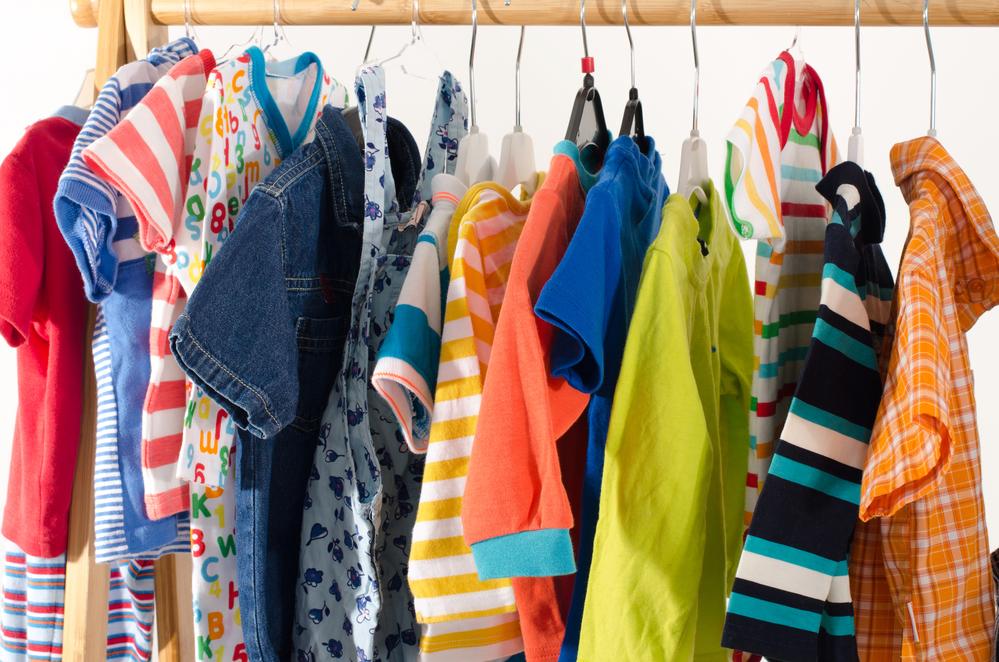 kids clothing stockpile